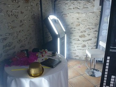 Location cabine photo booth